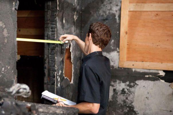 restauración después incendio